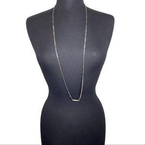 Kendra Scott Silver Averil Long Necklace